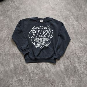 Of Mice and Men Crewneck pullover sweater black